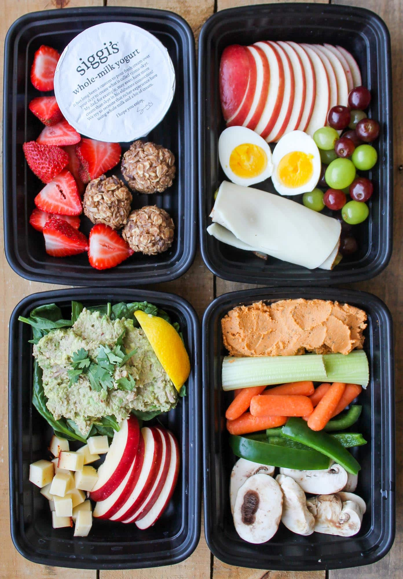 Healthy Snacks Pinterest  4 Healthy Snack Box Ideas Smile Sandwich