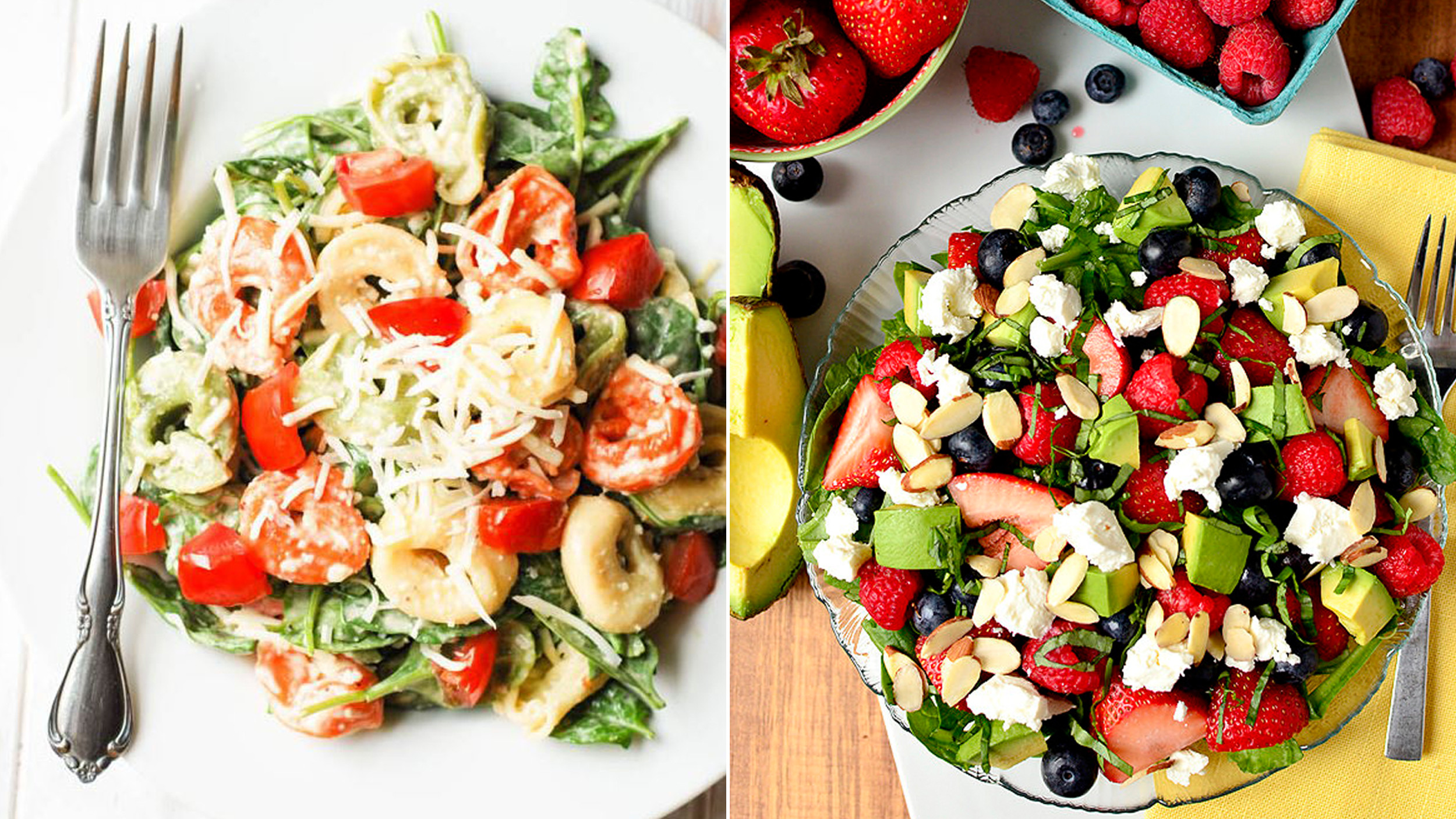 Healthy Snacks Pinterest  7 Pinterest approved healthy summer salad recipes TODAY