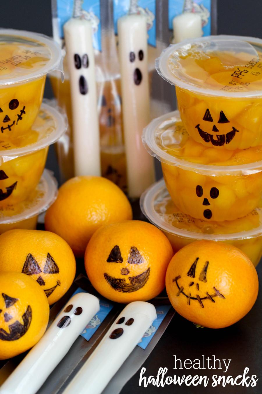 Healthy Snacks Pinterest  Healthy Halloween Snacks Lil Luna