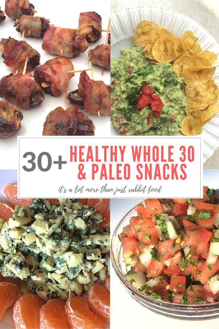 Healthy Snacks Pinterest  Meer dan 100 Whole 30 Recepten op Pinterest