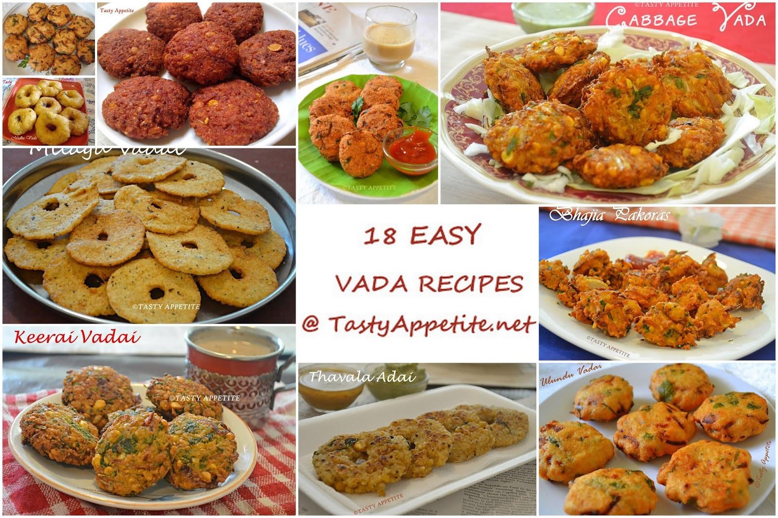 Healthy Snacks Recipes Indian  18 Easy Vada Recipes South Indian Vadai Recipes Healthy