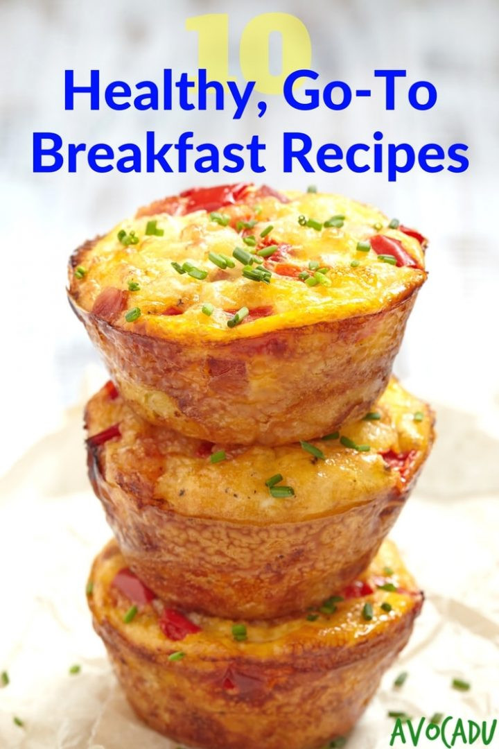 Healthy To Go Breakfast  10 Healthy Go To Breakfast Recipes Avocadu