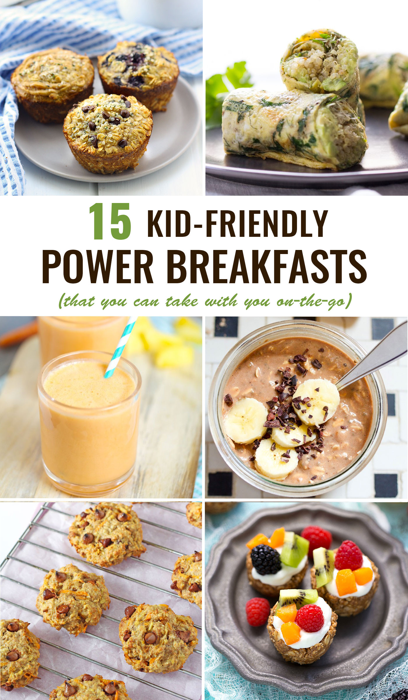 Healthy To Go Breakfast  Kid Friendly Power Breakfasts To Go