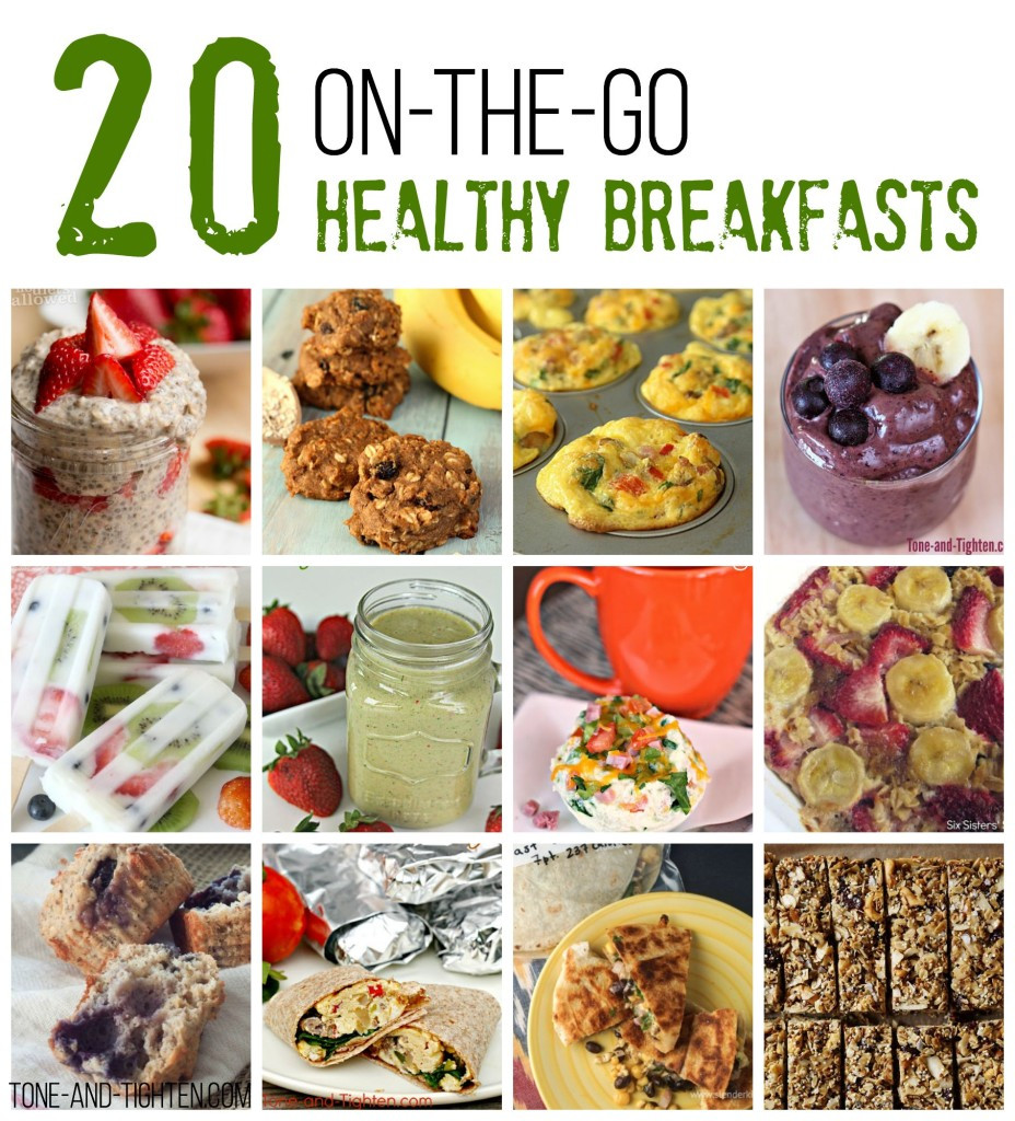 Healthy To Go Breakfast  20 The Go Healthy Breakfast Recipes