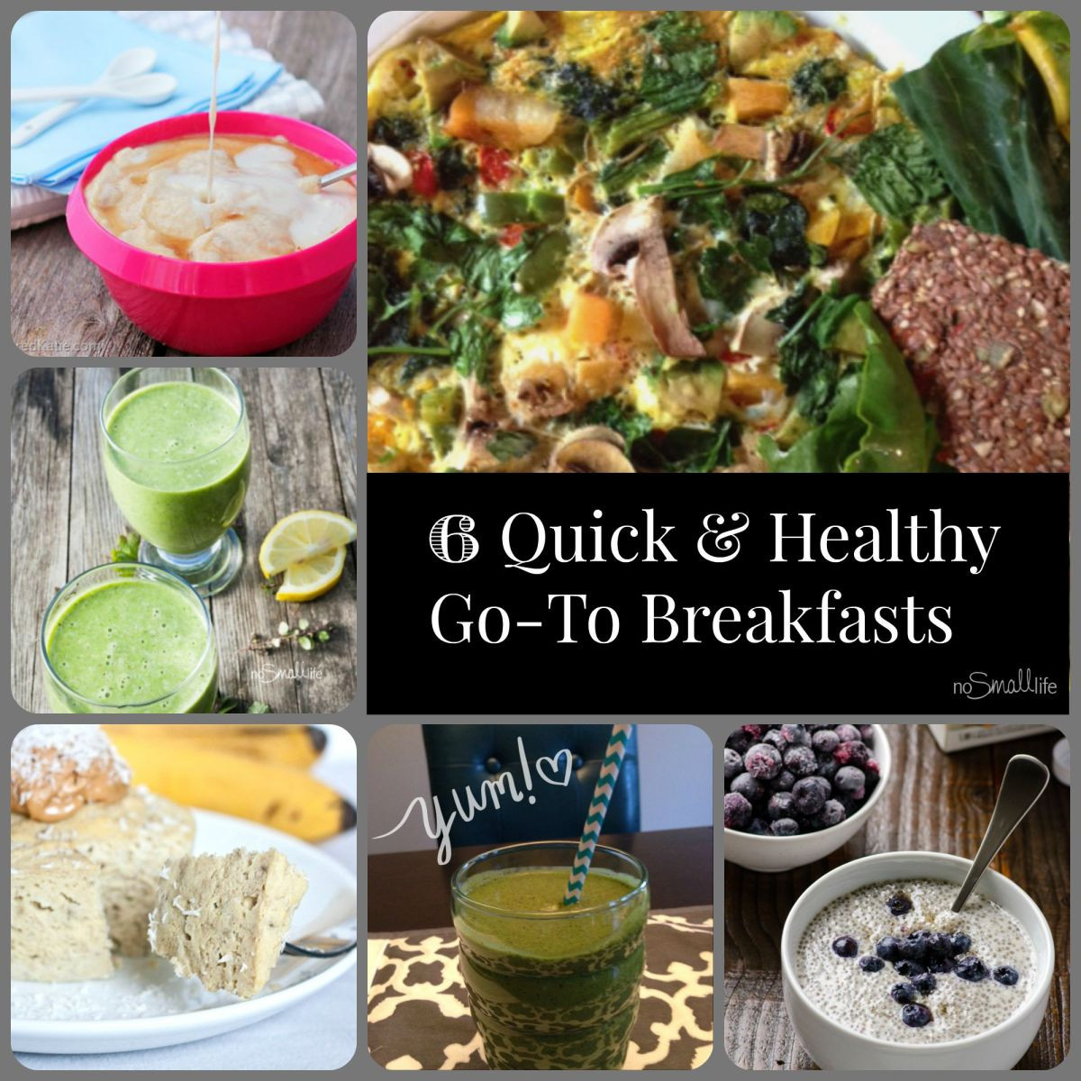 Healthy To Go Breakfast  My 6 Quick & Healthy Go To Breakfasts