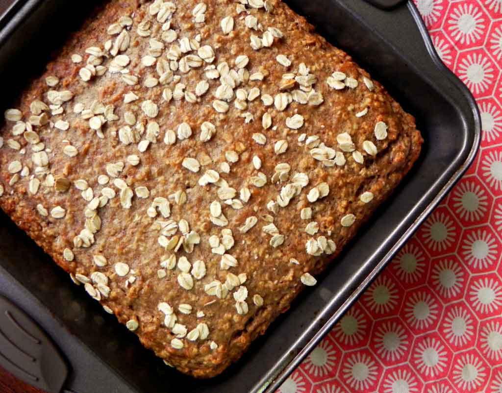 Healthy Vegan Bread Recipe  Vegan Banana Oat Bread