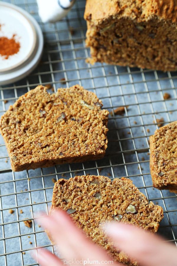 Healthy Vegan Bread Recipe  Healthy Vegan Banana Bread Pickled Plum Food And Drinks