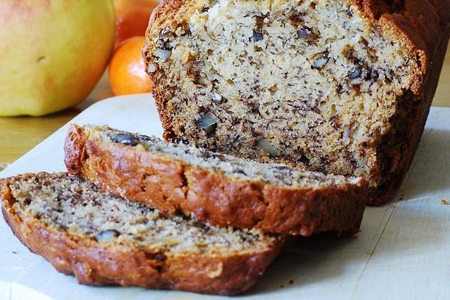Healthy Vegan Bread Recipe  Gluten Free Vegan Recipes banana bread with walnut