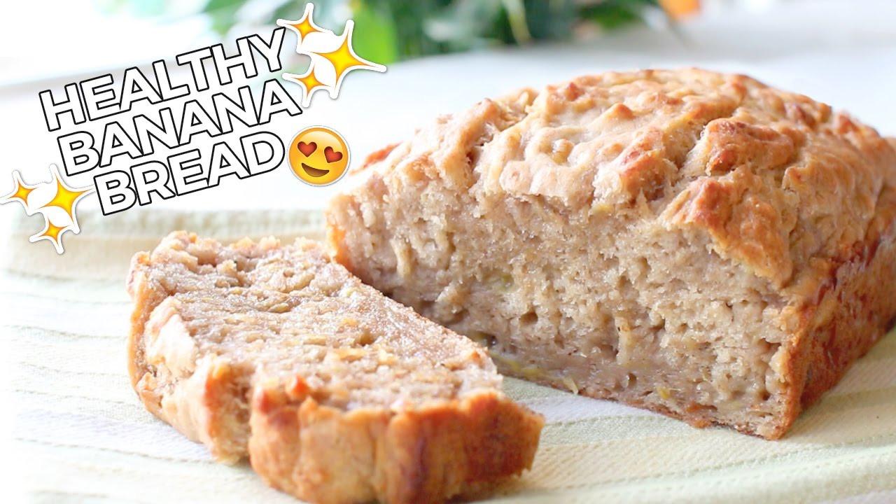 Healthy Vegan Bread Recipe  Healthy Banana Bread Delicious Easy & Vegan Recipe