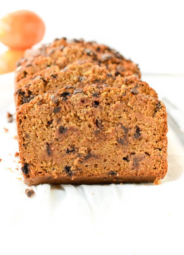 Healthy Vegan Bread Recipe  Vegan Pumpkin Bread Gluten free Healthy Sweetashoney