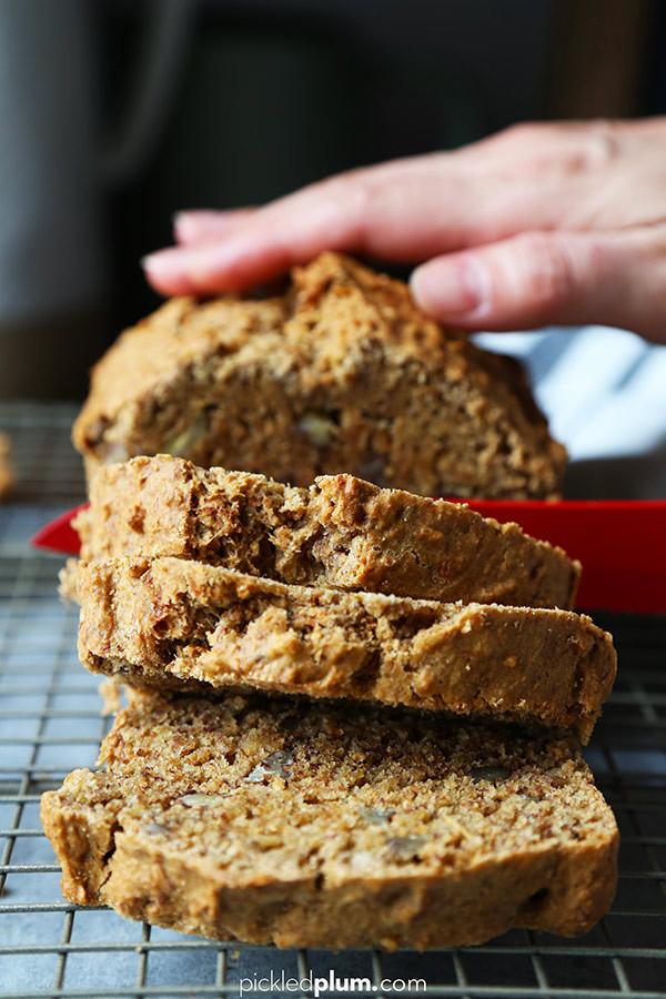 Healthy Vegan Bread  Healthy Vegan Banana Bread Pickled Plum Food And Drinks