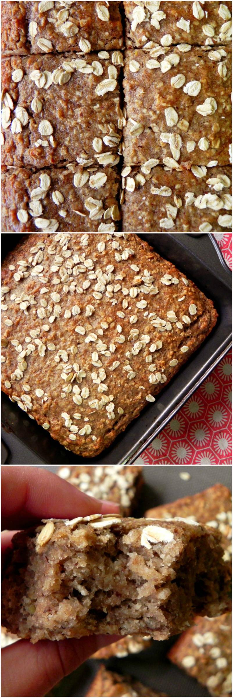 Healthy Vegan Bread  Vegan Banana Oat Bread