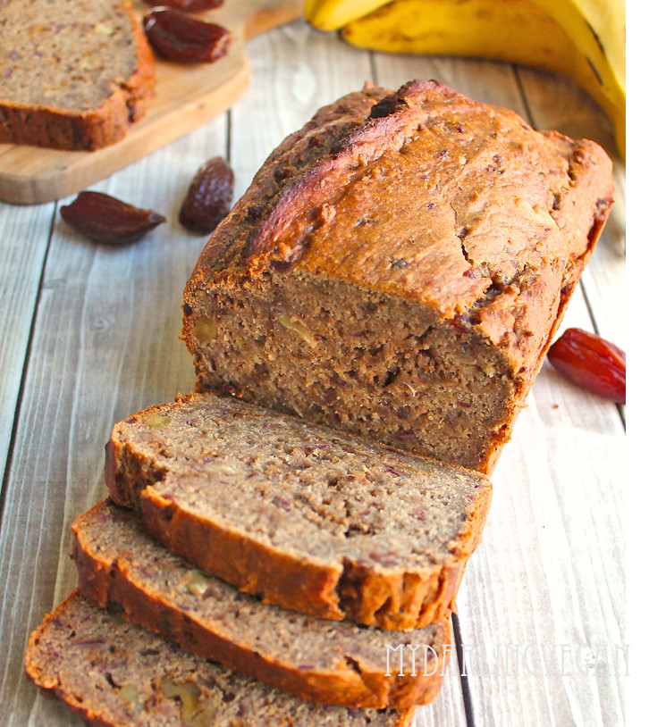 Healthy Vegan Bread  Healthy Vegan Banana Bread