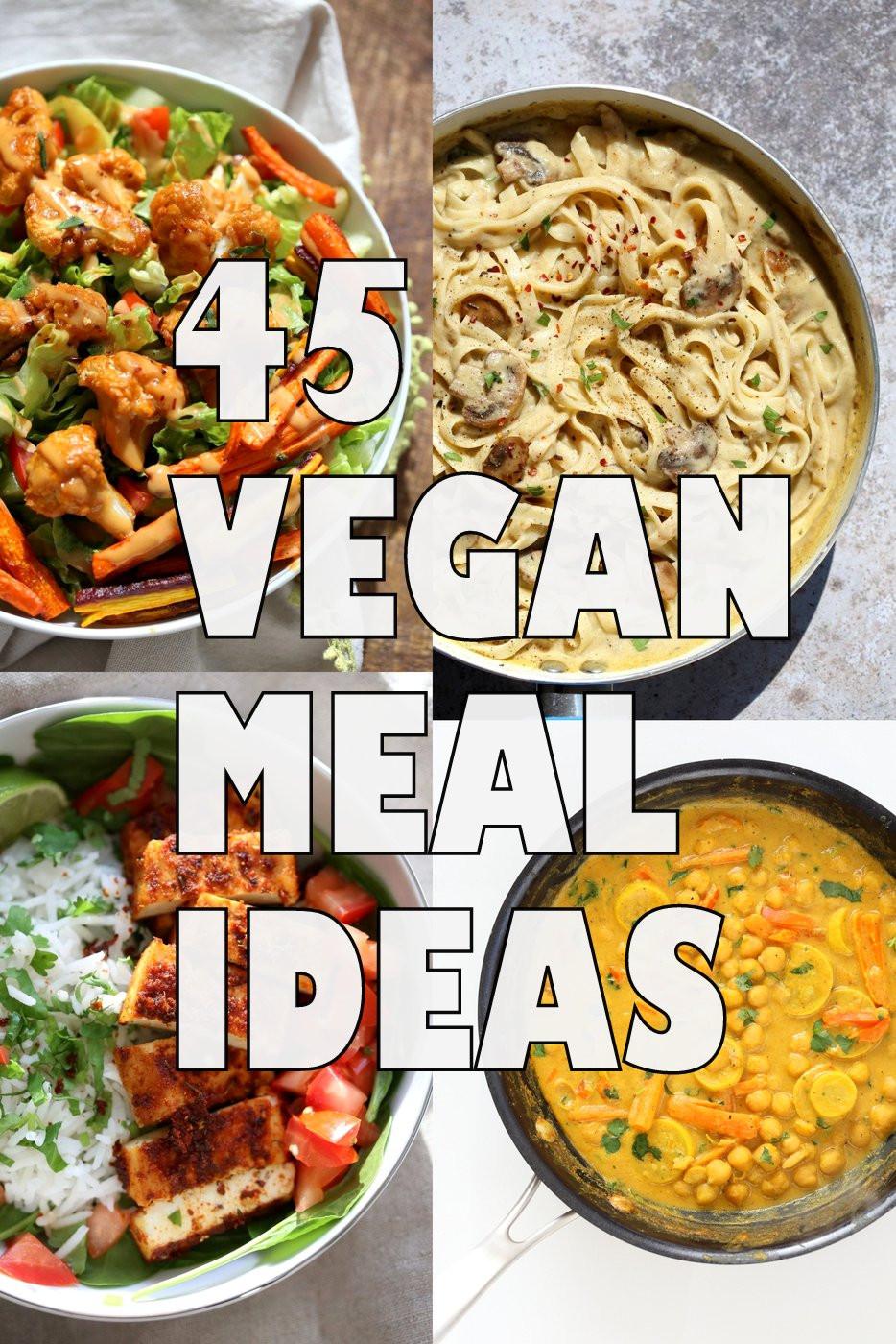 Healthy Vegan Dinners  45 Healthy Vegan Meals for Veganuary Vegan Richa