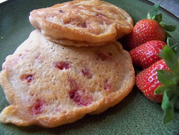 Healthy Vegan Pancakes  Healthy Vegan And Terrific Strawberry Pancakes Recipe