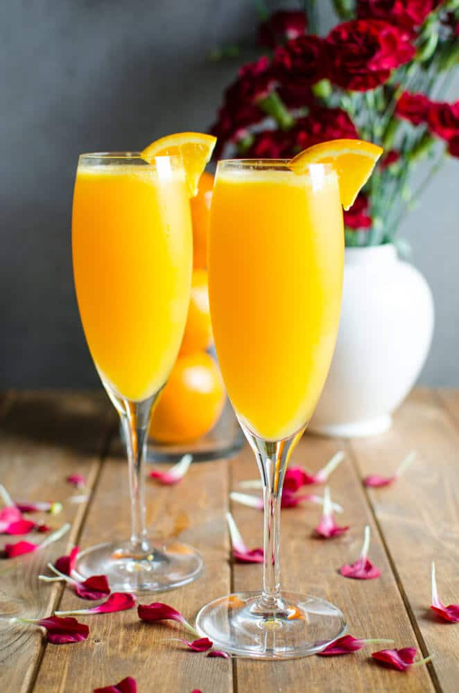 Healthy Vodka Drinks  Best Mimosa Recipe A Healthy Brunch Drink