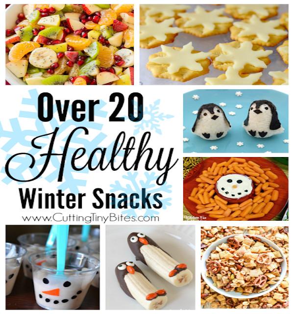 Healthy Winter Snacks  Healthy Winter Snacks – Edible Crafts