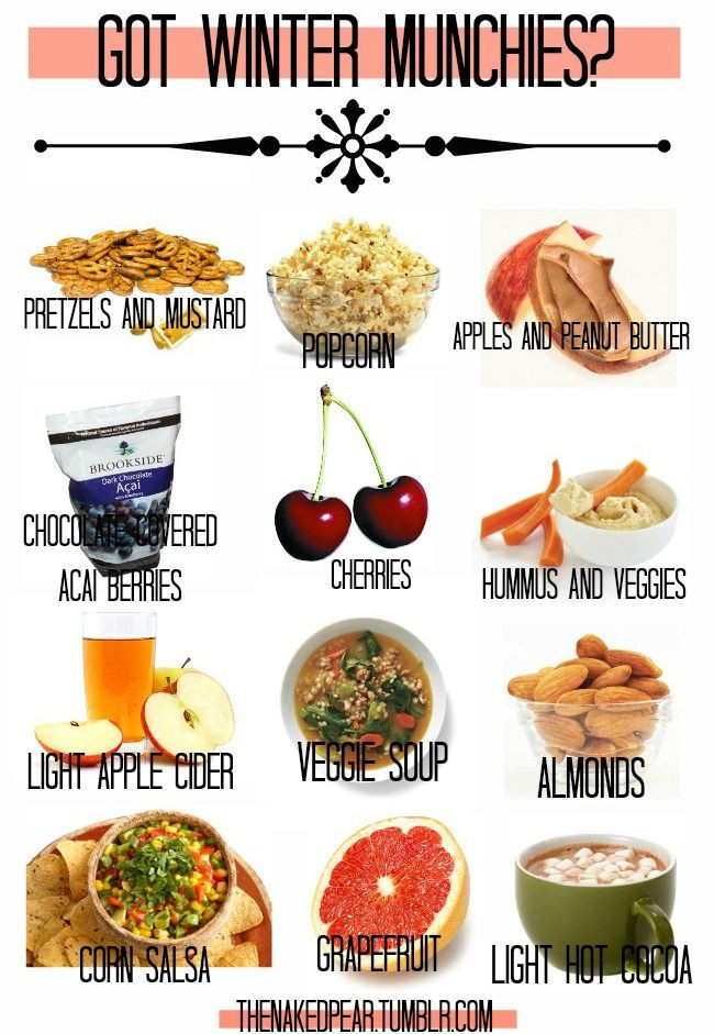Healthy Winter Snacks  Winter munchies healthy alternatives