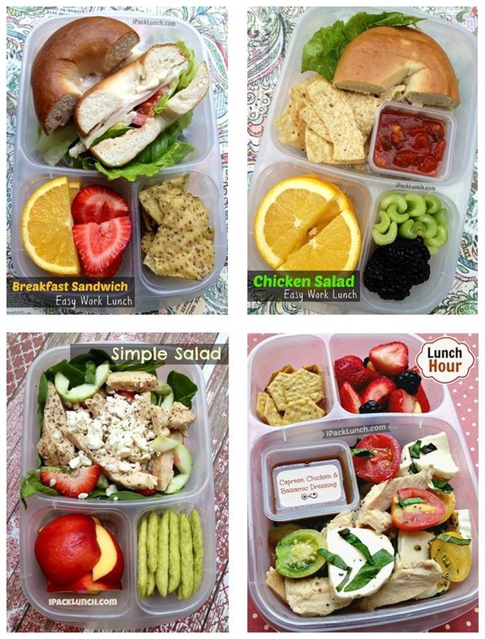 Healthy Work Lunches  healthy lunches to pack for work