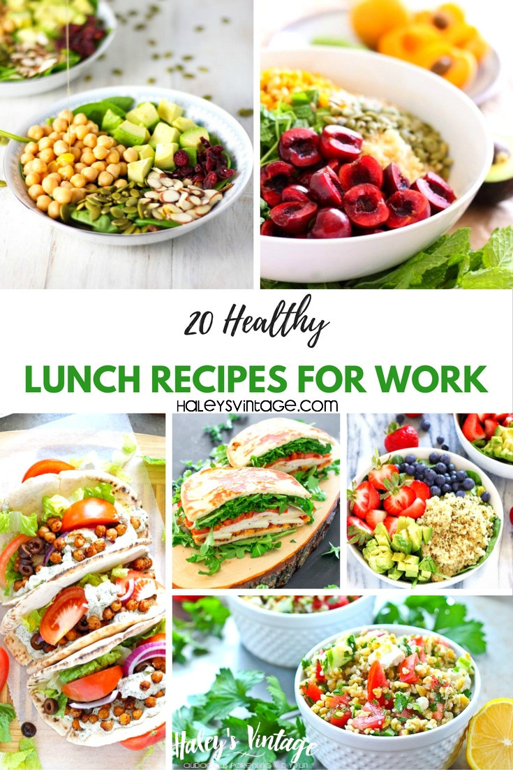 Healthy Work Lunches  20 Healthy Lunch Recipes for Work That Are Not Boring