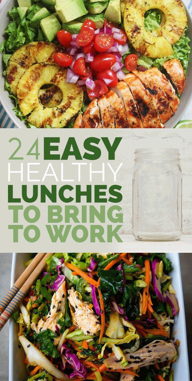 Healthy Work Lunches  24 Easy Healthy Lunches To Bring To Work In 2015