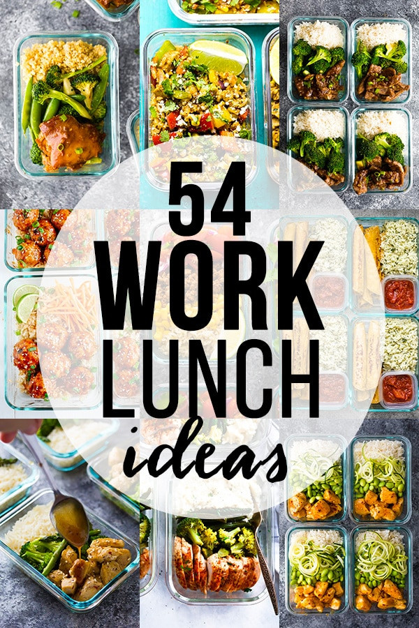 Healthy Work Lunches  54 Healthy Lunch Ideas For Work