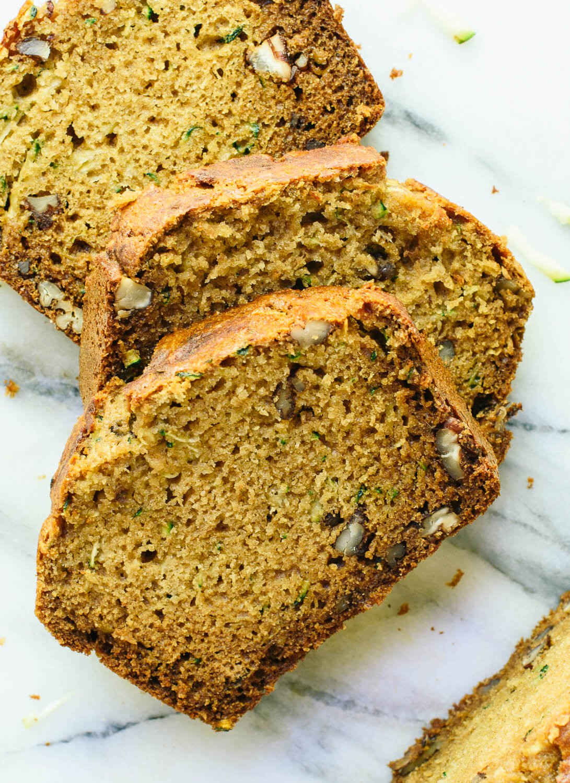 Healthy Zucchini Bread Recipe  Healthy Zucchini Bread Recipe Cookie and Kate