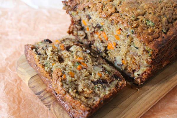 Healthy Zucchini Bread Recipe  Zucchini Carrot Banana Bread Confessions of a Chocoholic