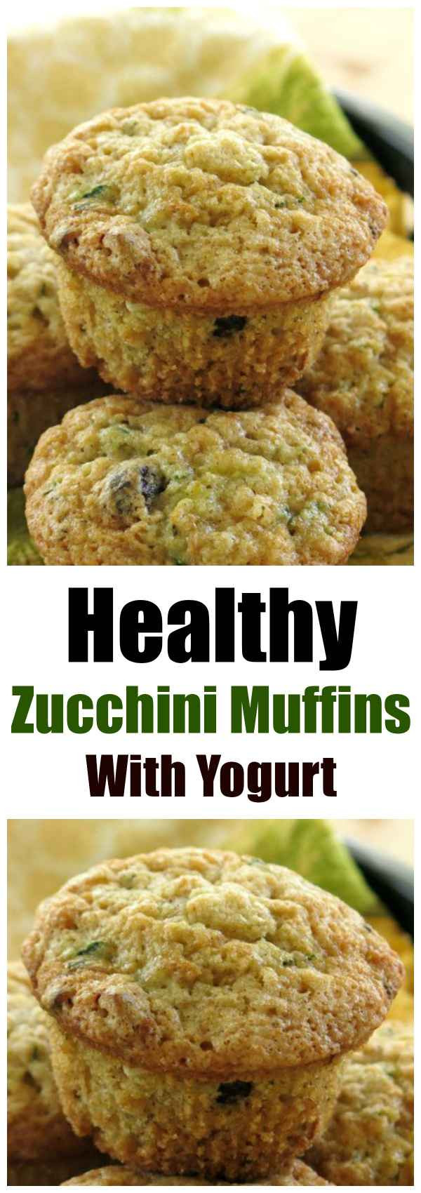 Healthy Zucchini Muffins  Zucchini Muffins Get a Healthy Makeover The Dinner Mom