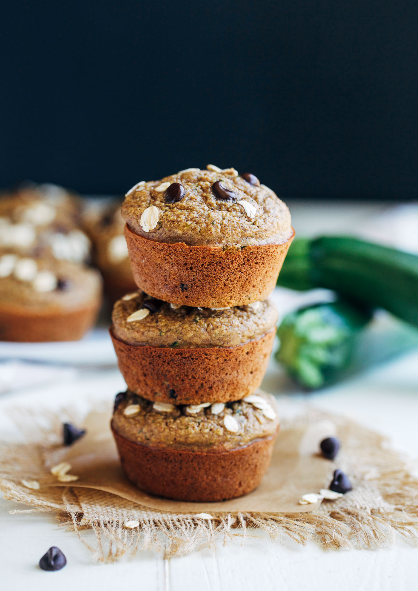 Healthy Zucchini Muffins  Healthy Flourless Zucchini Muffins Making Thyme for Health