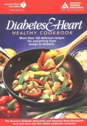 Heart Healthy And Diabetic Recipes  Diabetes and Heart Healthy Cookbook $8 99