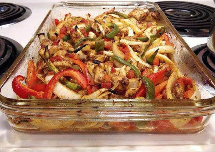 Heart Healthy Baked Chicken Recipes  Baked Chicken Fajitas Heart Healthy Recipe by amanda1021