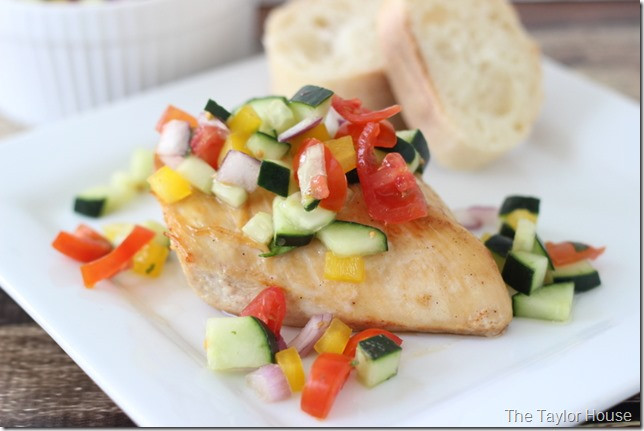 Heart Healthy Baked Chicken Recipes  Healthy Recipe Baked Chicken with Cucumber Salsa
