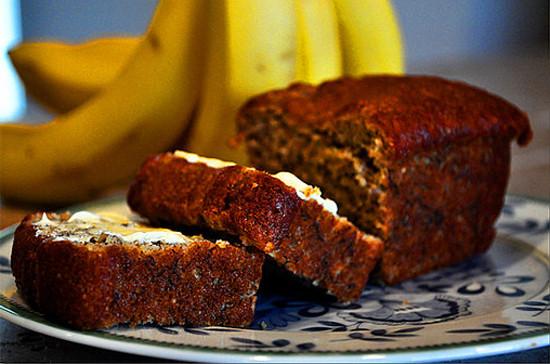 Heart Healthy Banana Bread  Healthy Banana Bread Recipe With Chia and Flaxseeds