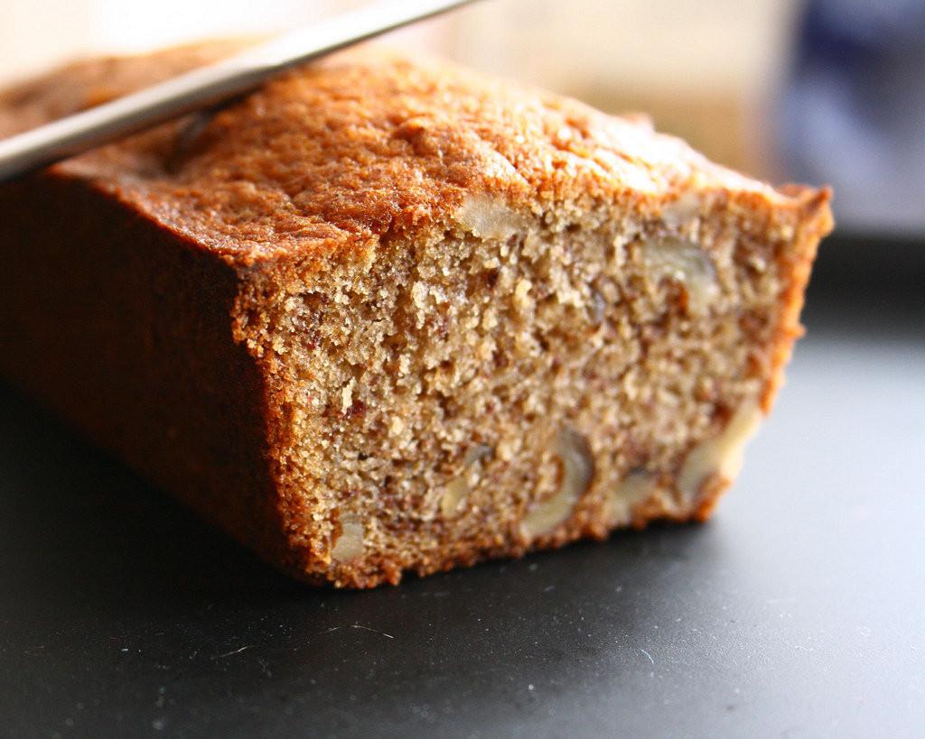Heart Healthy Banana Bread  Omega 3 Banana Nut Bread