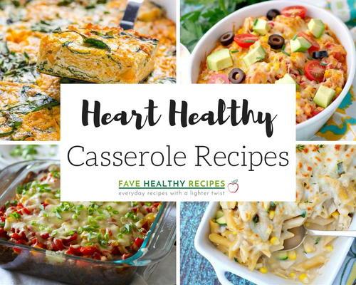 Heart Healthy Chicken Casseroles  46 Heart Healthy Casserole Recipes