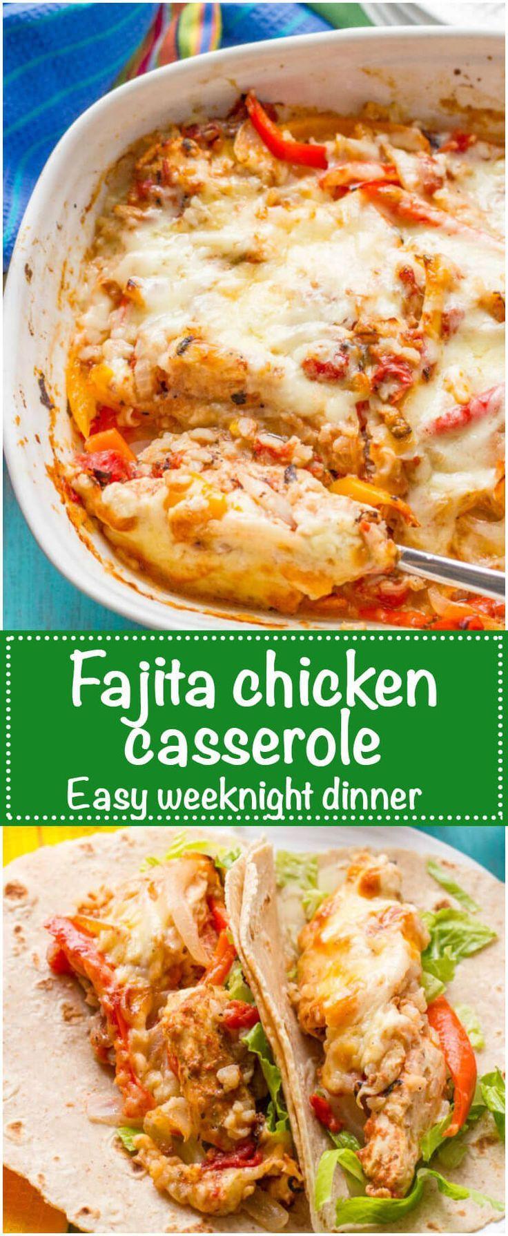 Heart Healthy Chicken Casseroles  Best 25 Healthy chicken fajitas ideas on Pinterest