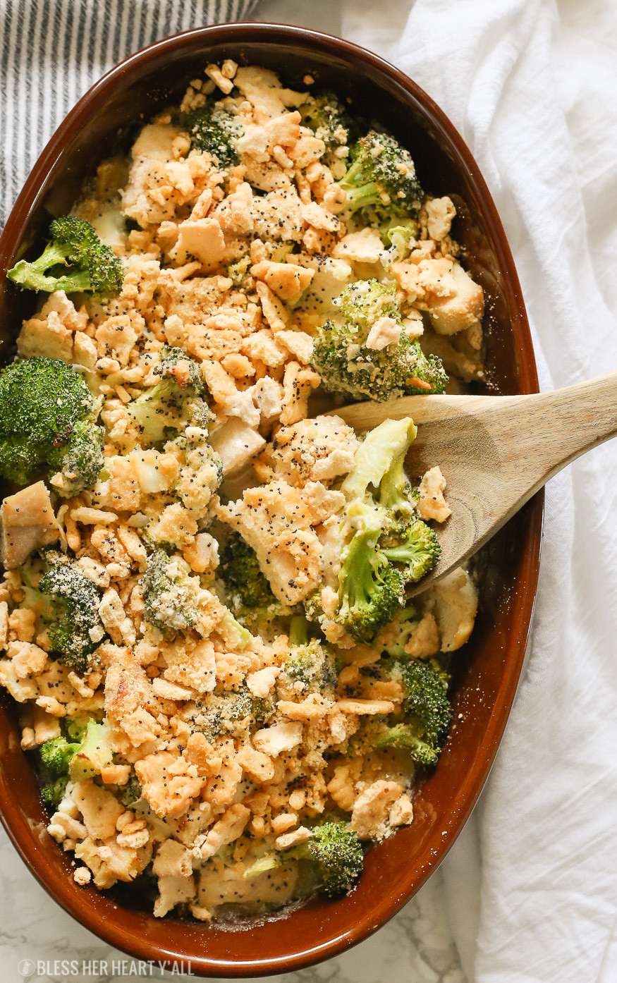 Heart Healthy Chicken Casseroles  Skinny Gluten Free Chicken Poppy Seed Casserole Bless