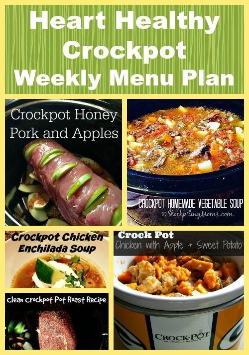 Heart Healthy Crock Pot Recipes  The 25 best Heart healthy t ideas on Pinterest