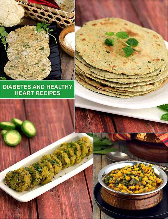 Heart Healthy Diabetic Recipes  Diabetic recipes for a Healthy Heart Diet Tarladalal