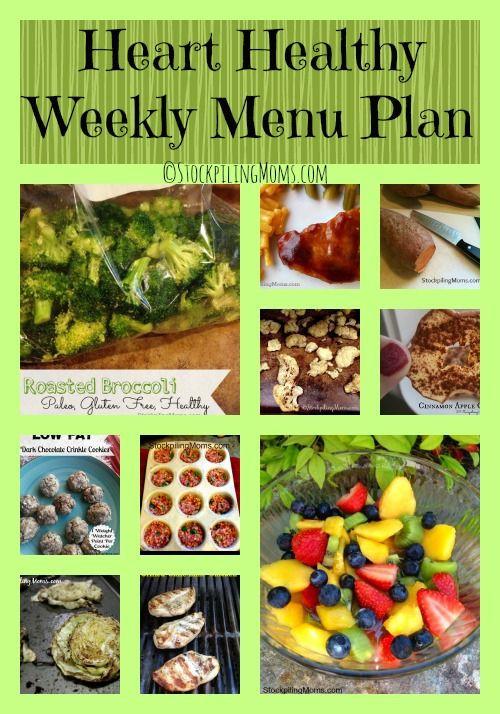 Heart Healthy Diabetic Recipes  Best 25 Diabetic menu plans ideas on Pinterest
