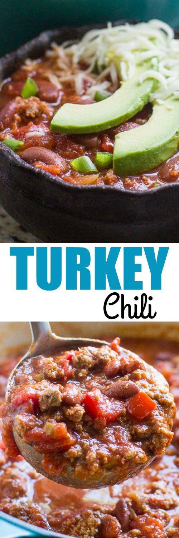 Heart Healthy Ground Turkey Recipes  Best 25 Healthy turkey chili ideas on Pinterest