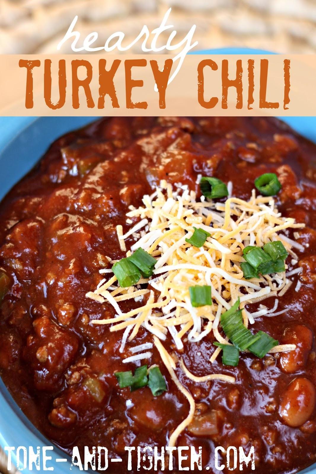 Heart Healthy Ground Turkey Recipes  Hearty Turkey Chili Recipe