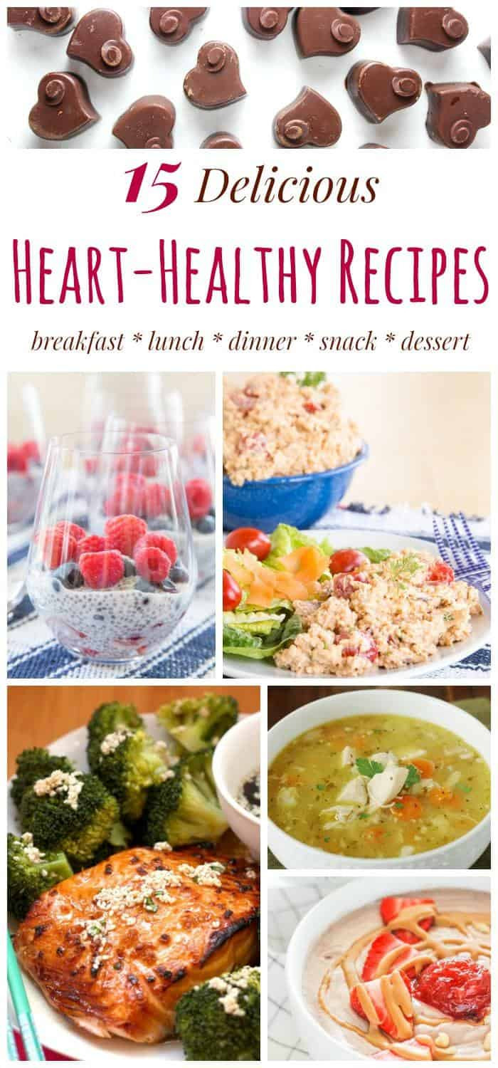 Heart Healthy Lunch Recipes  Advice FromTheHeart and 15 Heart Healthy Recipes