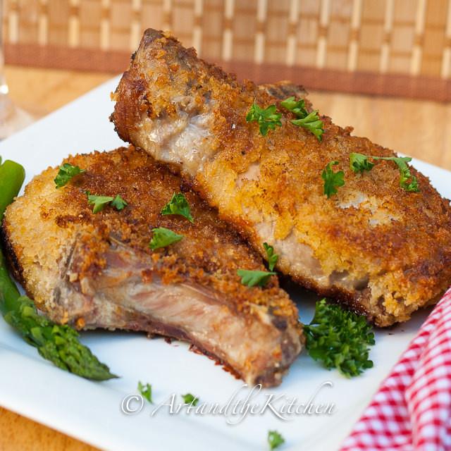 Heart Healthy Pork Chop Recipes  Breaded pork chop recipes panko Food pork recipes