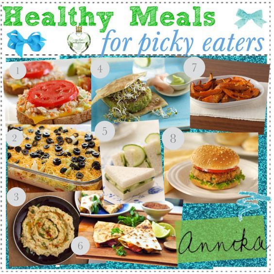 "Heart Healthy Recipes For Picky Eaters  ""Healthy Meals for PICKY EATERS ♥"" by"