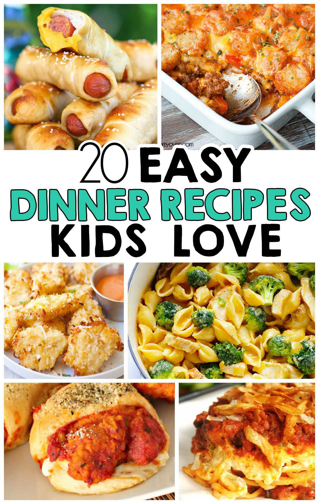 Heart Healthy Recipes For Picky Eaters  20 Easy Dinner Recipes That Kids Love