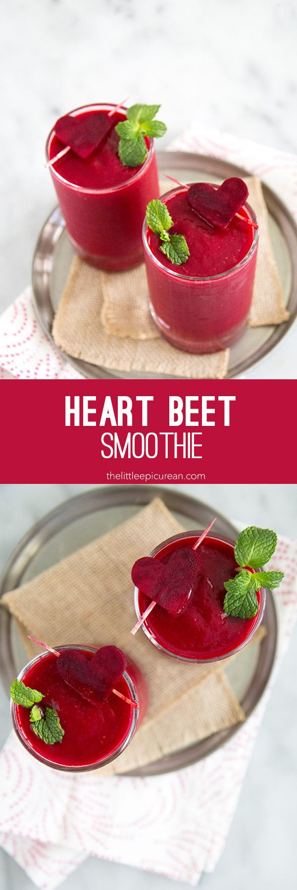 Heart Healthy Smoothie Recipes Heart Beet Smoothie Recipe Drinks
