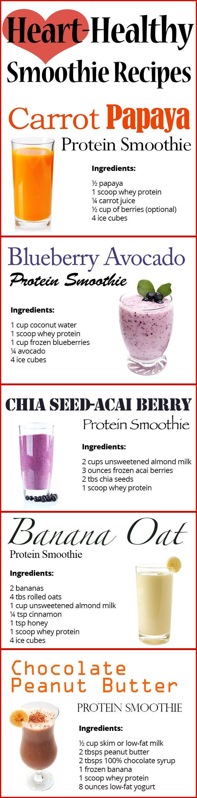 Heart Healthy Smoothie Recipes Heart Healthy Smoothie Recipes s and