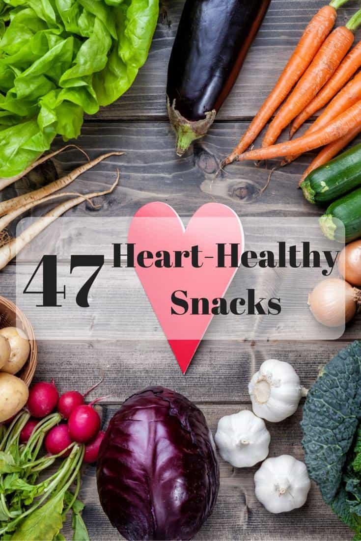 Heart Healthy Snack Recipes  47 Heart Healthy Snack Ideas